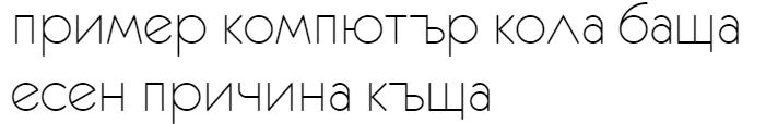 Eurofurence Light Cyrillic Font