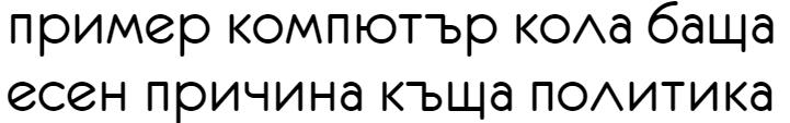 Eurofurence Cyrillic Font
